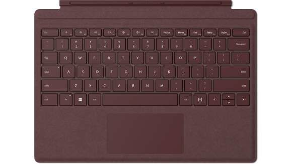 MICROSOFT SURFACE PRO TYPE COVER NORDIC HDWR COMMERCIAL BURGUNDY IN  (FFQ-00049) fa7e0fba5947f