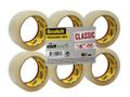 SCOTCH Pakketape Scotch® transp 50mmx66m (6)