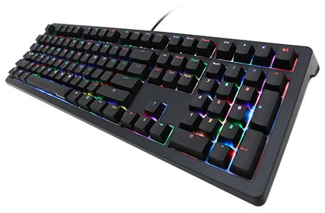 DUCKY Shine 5 Gaming Tastatur, MX-Black, RGB LED - schwarz (DKSH1508ST-ADEADAAT1)