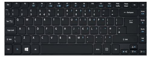 ACER KEYBD.BLACK.ITA.BL (NK.I1417.0HP)