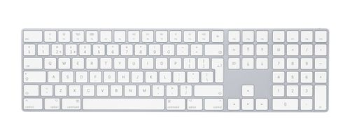 APPLE MAGIC KEYBOARD W NUMERIC KEYPAD SWEDISH SW (MQ052S/A)
