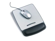 Mousepad incl. wristsupport grey/ black WR421