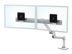 ERGOTRON LX DESK DUAL DIRECT ARM BRIGHT WHITE TEXTURE ACCS