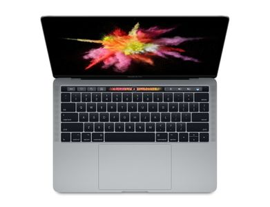 APPLE 13-inch MacBook Pro with Touch Bar: 3.1G (2017) 4 x Thunderbolt 3-porter (MPXW2H/A)