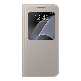 Galaxy S7 S View Cover Gold
