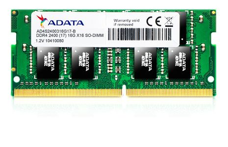 A-DATA 8GB DDR4 SO-DIMM 2400 (AD4S240038G17-B)