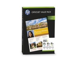 HP No951XL Officejet Value Pack-75 sht/ A4/ 210 x 297 mm (CR712AE)