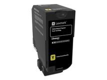 LEXMARK CS720 toner yellow 3k (return)