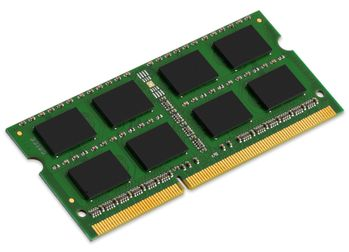 KINGSTON 4GB DDR3 1600MHz Non-ECC CL11 SODIMM SR x8 (KVR16S11S8/4)