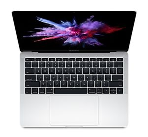 "APPLE MacBook Pro 13"" Retina m/Touch Bar Sølv, Dual-core i7 3.5GHz, 16GB RAM, 1TB PCIe SSD, Intel Iris Graphics (Z0UP-PMD-MPXX2H/A)"