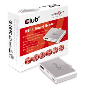 CLUB 3D Cable C3D USB C smart reader (CSV-1590)