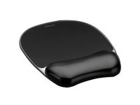 Crystal black mousepad & wrist rest