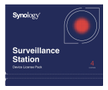 SYNOLOGY Surveillance Device License (X 4)