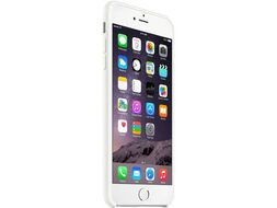 APPLE Silicon Case iPhone 6 Plus, White Deksel til iPhone 6 Plus (MGRF2ZM/A)