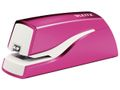 WOW stapler battery-powered 10 sheets pink / LEITZ (55661023)