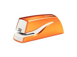 LEITZ WOW stapler battery-powered 10 sheets orange (55661044)