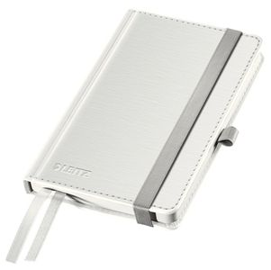 LEITZ Notepad Style A6 hard squared 80s white (44910004*5)