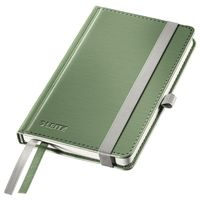 Notepad Style A6 hard squared 80s green