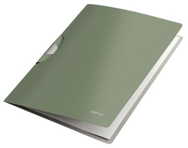 LEITZ Clip File Style ColorClip PP A4 green (41650053*6)