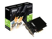 MSI GeForce GT 710 Passive HDMI 2xDVI 2GB