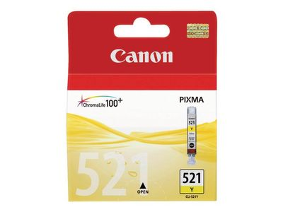CANON CLI-521Y Yellow Ink (2936B001)