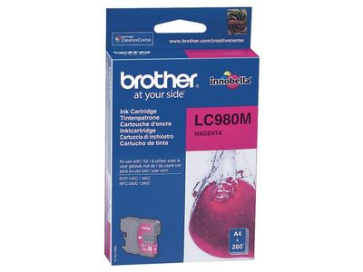 BROTHER Ink Cart/ magenta 260sh DCP-145C MFC-250C (LC980M)