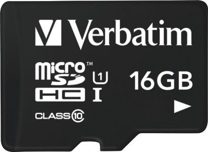 VERBATIM Flash card Tablet Micro-SD 16GB (44058)