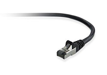 BELKIN Cat5e Snagless STP Patch - black - 15m (A3L793BT15MBKHS)