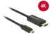 DELOCK 85259 Cable USB Type-C male to HDMI male (DP Alt Mode) 4K 30 Hz