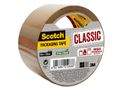SCOTCH Emballasjetape SCOTCH 50mmx50m brun