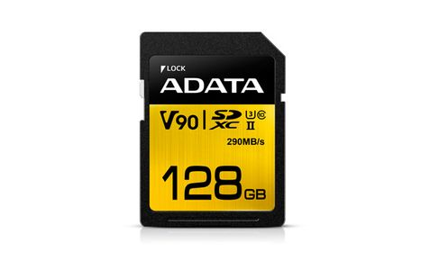 A-DATA 128GB UHS-II-U3,  SD 4.0 (ASDX128GUII3CL10-C)
