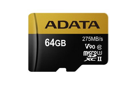 A-DATA Adata microSDXC 64GB Class 10 read/ write 275/ 155MBps (AUSDX64GUII3CL10-CA1)