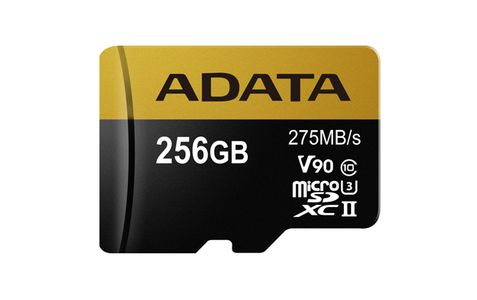 A-DATA Adata microSDXC 256GB Class 10 read/ write 275/ 155MBps (AUSDX256GUII3CL10-CA1)