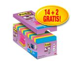 POST-IT Super Sticky Z-bl. 76x76mm 16/FP / POST-IT (R330P16S)