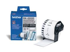 BROTHER DK CONTINUOUS LABELS WHITE F/ QL-500/ 550 PAPER 30.48M 50MM SUPL