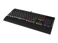 CORSAIR K70 RGB RAPIDFIRE Gamingtastatur Cherry MX Speed, nordisk layout (CH-9101014-ND)