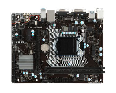 MSI MB Intel 1151 H110M Pro-VD Plus (007A15-001R)