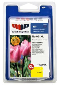 MM Yellow Inkjet Cartridge No.951XL (CN048AE) (10039UK)