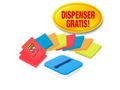POST-IT Dispenser Z-note POST-IT + 8 notes
