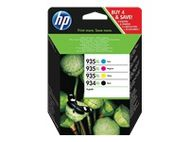 HP Ink/ 934XL/ 935XL HY Cart CMYK (X4E14AE#301)