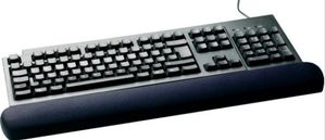 3M WR310MB GEL KEYBOARD WRIST REST 7.1 X 48.3 CM BLACK (7000052325)