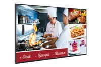 "VESTEL PD 49"" E-LED, FHD, 24/7, 400 nits 2xHDMI, DVI, DP in/out, WiFi, BT, Miracast"