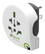 Q2Power Reseadapter 10A Världen - USA Vit