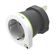 Q2Power earthed travel adapter, EU to United Kingdom, 10A, white