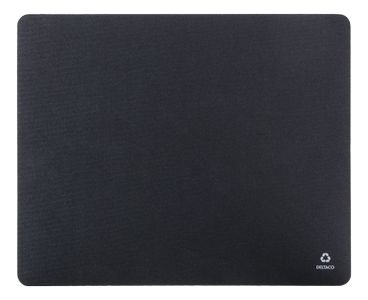 DELTACO Recycled mousepad, from recycled PET-bottles and nature rubber (KB-200)