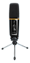 MAONO USB Microphone for podcasting and more, 20Hz-20kHz, 16 Ohm,black