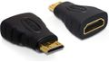 DELOCK HDMI Standard adapter, Mini HDMI ha - HDMI ho