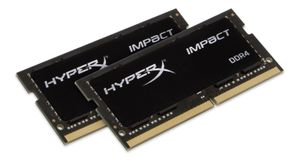 KINGSTON 32GB DDR4-2133MHZ CL13 SODIMM (KIT OF 2) HYPERX IMPACT (HX421S13IBK2/32)
