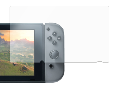 DELTACO gaming 9H glass screen protector for Nintendo Switch, (GAM-011)