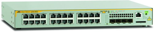 Allied Telesis L2+ GE 24 PS und 4 SFP F-FEEDS2 (AT-X230-28GT-50)